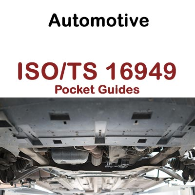 Automotive - ISO/TS 16949 Pocket Guides